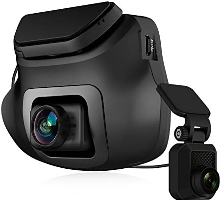 Z-Edge S3 1440P Front 1080P Rear FHD Dual Dash Cam, Support 256GB max, Dash Cam Front and Rear with 150 Degree Wide Angle, G-Sensor, WDR Night Vision, 16GB Card Included, Loop Recording, G-Sensor