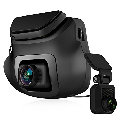 Z-EDGE S3 Dual Dash Cam - Ultra HD 1440P Front & 1080P Rear 150 Degree Wide Angle Dual Lens Car Camera, Front and Rear Dash Cam, Dashboard Camera with G-Sensor, WDR, 16GB card included (Micro Sd Dual Pack)
