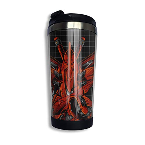 Gundam Red Comet Personalized Travel Mug Stainless Lined Coffee Tumbler Double Wall Vacuum Insulated Coffee Mug For Christmas,Birthday,Home,Office
