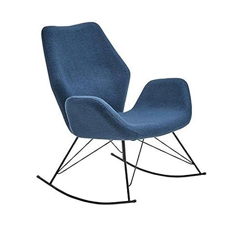 Roseland Furniture Bryce Accent Mecedora - Gasolina Azul ...
