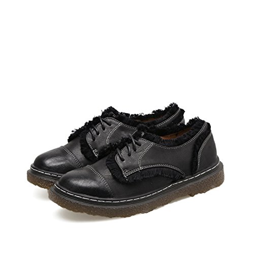 Scarpe Oxford Da Donna Di T-july - Comode Scarpe Casual Con Plateau E Nappine In Nappa