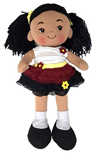 Search : Red's Toy Shop Nadia Fabric Rag Doll - 16 Inch