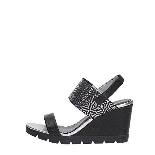 Flexx Black Lot A Vacchetta ladies Womens Sandals The Give 6CqURHRw