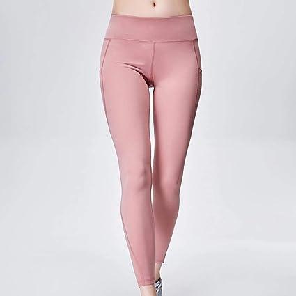 9d505a9df3460 Grist CC Pantalón Deportivo De Mujer Pantalones Yoga Leggings De Fitness  Elásticos y Transpirables Secado Rápido