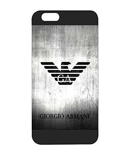 on sale bfe25 9f079 Iphone 6s 6 Case, Armani Non Slip Plastic Back Case Compatible with ...