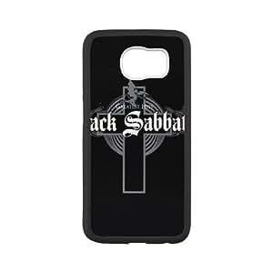 Samsung Galaxy S6 Cell Phone Case White Black Sabbath Phone cover SE8591656