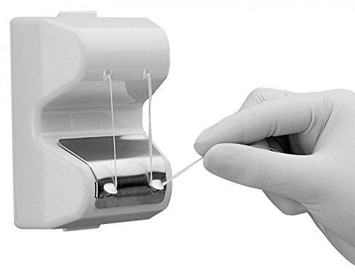 Dental Floss-fix—Clinical Series Floss Dispenser (WHITE)