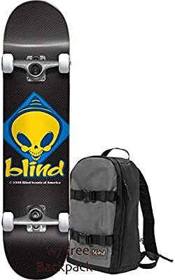 Amazon.com: Skateboards - Monopatín con diseño retro de ...