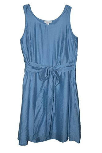 coldwater-creek-womens-belted-fit-flared-dress-plus-sz-18w-20-22-24-20-blue