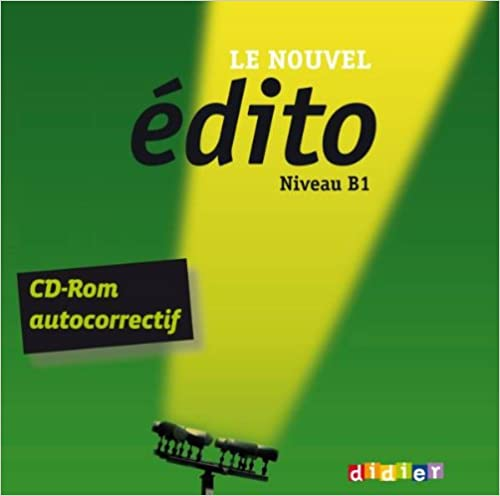 Lire un Le nouvel Edito B1 - CD Rom d'exercices pdf