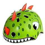 Anharluka Cycling Helmet Cool Dinosaur Tricycle Helmet Big Wheel Helmet for Child,Youth Multi-Sport Helmet