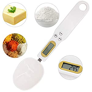 500g/0.5g Digital Measuring Spoon, kitchen scales grams, Electronic LCD Digital Spoon Digital Pocket Scale Jewelry Weight Balance Tool 415 2Bc0piU3L
