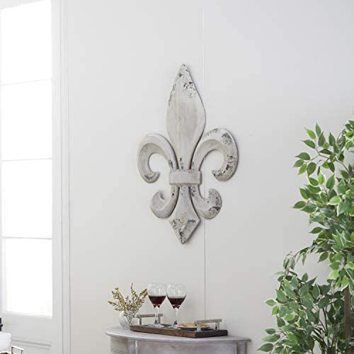 Deco 79 Metal Fleur De Lis Wall Decor
