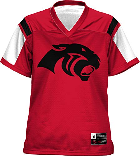 ProSphere Cabot High School Women's Football Jersey (Thunderstorm) FD21 (Small) Red and White