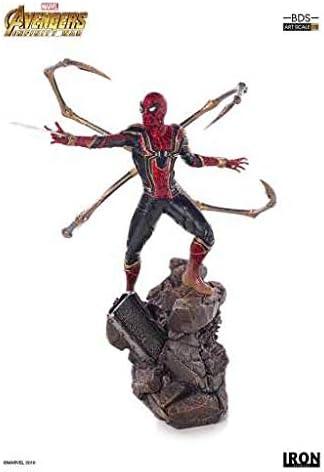 STATUE Figure Toy Gift INFINITY WAR SPIDER-MAN IRON SPIDER 1:10 SCALE ARTFX