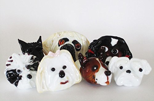 MEMORIALIZE YOUR PET. HANDMADE GLASS KNOBS,LAMP FINIALS,BOTTLE STOPPERS