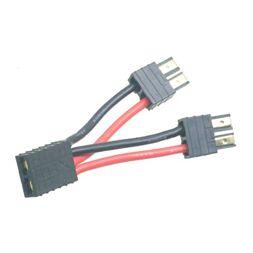 1X Traxxas parallel connector adapter Double Capacity for E Revo Lipo battery - Parallel Connector Post