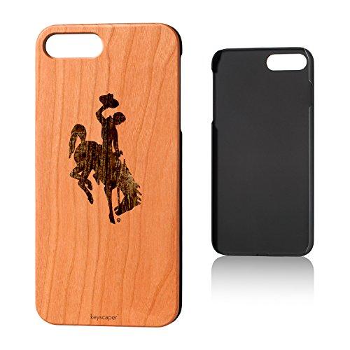 Wyoming Cowboys Cherry Wood iPhone 7 Plus/iPhone 8 Plus Case NCAA