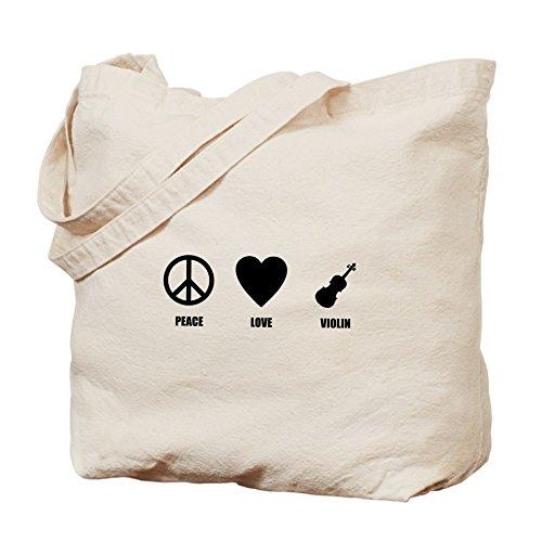 Bolso de mano de la paz - CafePress bolso de mano violín de amor