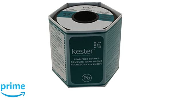 Kester Solder W1M3Y 24-7068-1402 Solder Wire, Rosin Flux, Lead-Free, SN96.5AG3.0CU0.5.031 Dia; Core 66; 1 lb.: Amazon.com: Industrial & Scientific