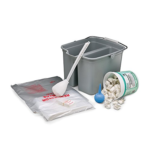 Allegro Industries 4001 Respirator Cleaning Kit with Dry Soap, One Size