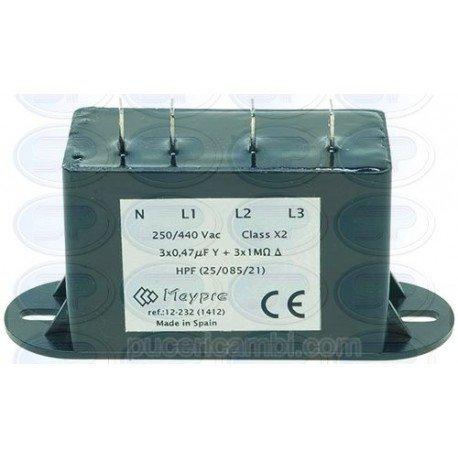 Filtro interferencias 250/440 V 3160366: Amazon.es: Hogar