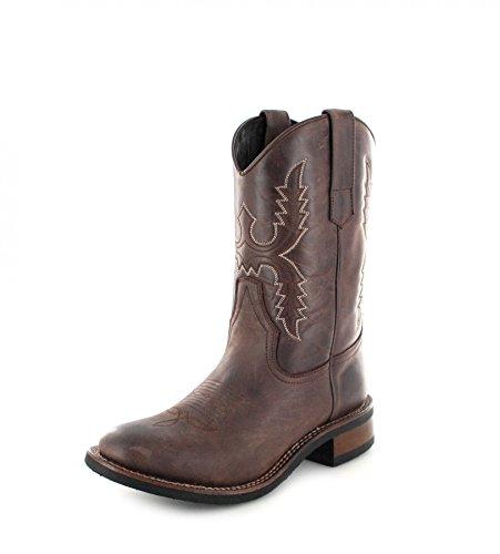 11615 Adulto Marrone Sendra marrone Western Stivali Boots Unisex T5nAPw7q