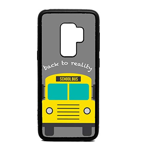 Phone Case School Bus Print Pattern for Galaxy S9 Plus (Bus Cases School)