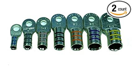 Amazoncom Heavy Duty Tinned Marine Battery Cable Lug By Ftz 4