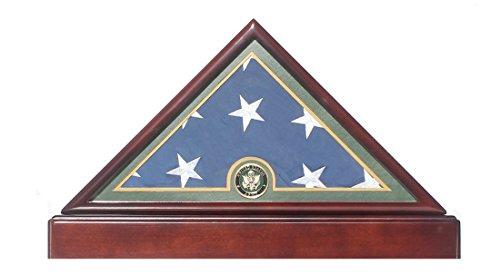 us flag display case black - 5