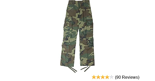 Amazon.com  Army Universe Woodland Camouflage Vintage Military BDU  Paratrooper Cargo Fatigue Pants  Clothing 96f4c7a02e