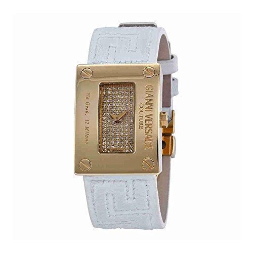 Versace-Gold-Diamond-set-White-Leather-Strap-Ladies-Watch-72Q00SD91F-S001