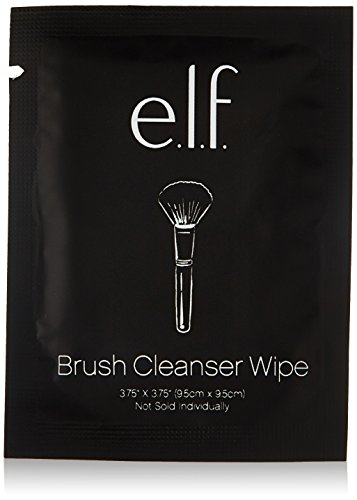 e.l.f. Brush Cleaner Wipes, 10 Count