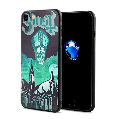 (iPhone 8 Case and iPhone 7 Case Ghost-Opus-Eponymous Shock-Absorbing Case, iPhone 7/8 Case for Scratch Protection)