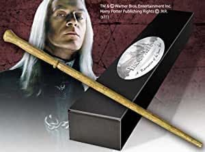 Lucius Malfoy Character Wand. Harry Potter Noble Collection (accesorio de disfraz)