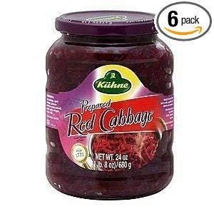 (Kuhne Cabbage, Red, 24-Ounce (Pack of 6))