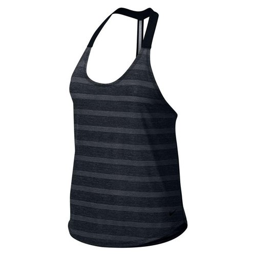 Women's Nike Elastika Elevate Training Tank Black Size Medium