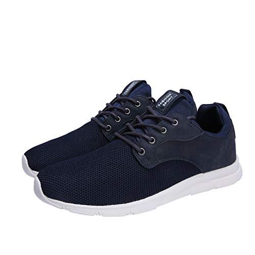 Chaussures à Hughes pied de Hommes Bleu lacets à Casual Chaussures Marine Femmes Maylen course vpwxtHFqF