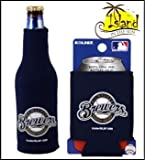 SET OF 2 MILWAUKEE BREWERS CAN & BOTTLE KOOZIE COOLER
