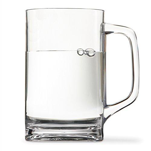 Classic Premium Quality Plastic Mug - 15 ounces set of 4