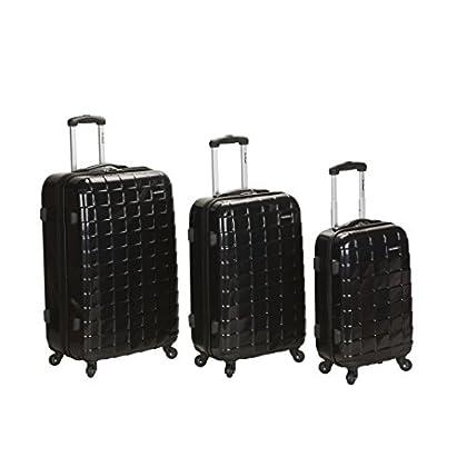 Image of Luggage Rockland Luggage Celebrity 3 Piece Luggage Set, Black, One Size