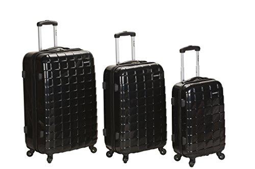 Rockland Luggage 3 Piece Celebrity Hardside Spinner Set