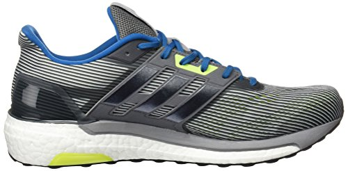 adidas Supernova, Zapatillas de Running para Hombre Gris (Vista Grey / Core Black / Unity Blue)