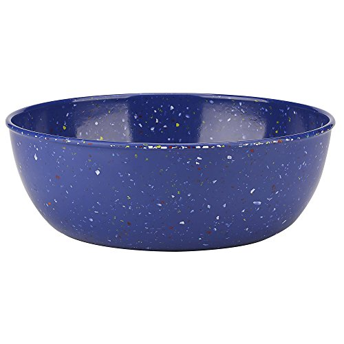 Zak Designs 2323-1890-AMZ Confetti Serving Bowls, Blue LS