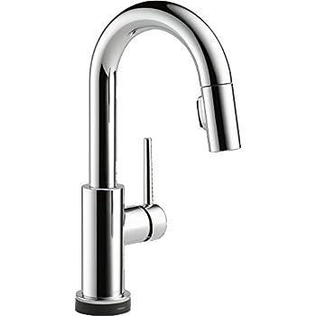 Delta Faucet Trinsic Single Handle Bar Prep Touch Kitchen