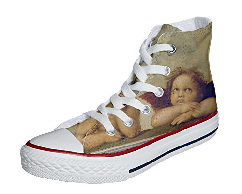 Converse All Star zapatos personalizados Unisex (Producto HANDMADE) Michelangelo