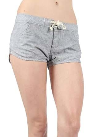 Hurley - Womens Boardwalk Walkshorts, Size: 0, Color: Black