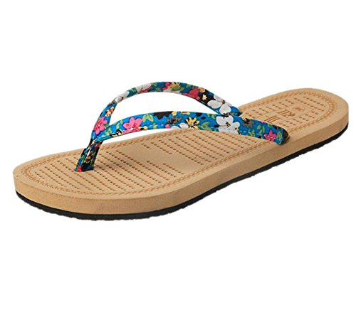 Layer Slim Casual Classic Flip Da Flop Scarpe Donna Sandali Blue Youjia Single wYgR8g
