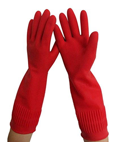 15 inch Reusable Household Rubber Gloves product image