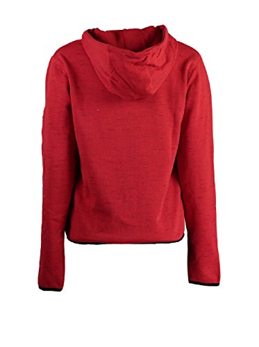 Geographical Norway - Sweat à capuche Femme Geographical Norway Fashionista Rouge